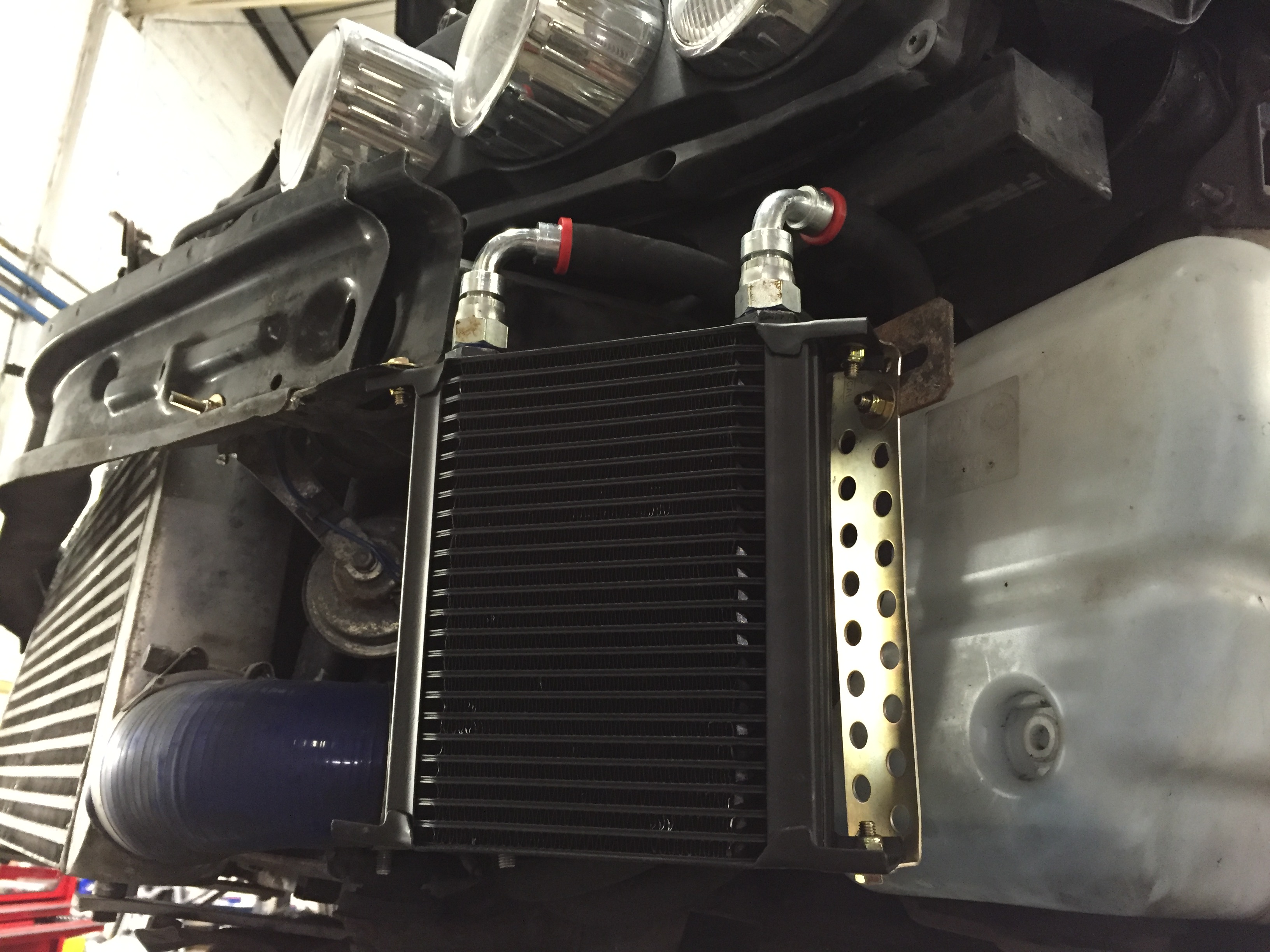 Alfa 159 Gearbox Cooler Modification - Jabawok Industries