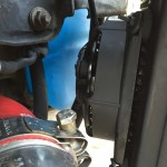 Alfa 159 Gearbox Cooler Modification