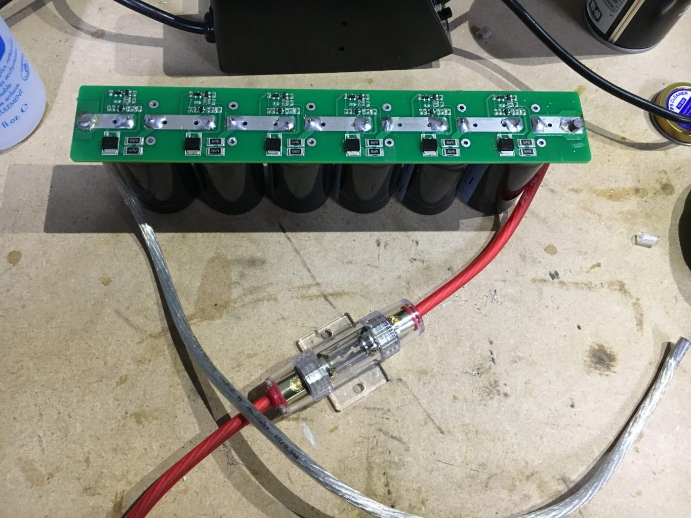 Supercapacitor Car Audio Wiring Library Home Network Using Electrical On Popscreen It Took Some Real Heat The Iron To Get Solder Flowing Especially Soldering